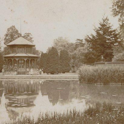Chinesischer Pavillon um 1920